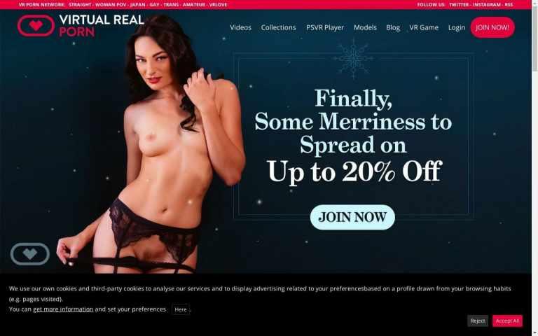 Virtual Real Porn - Best VR Porn Sites