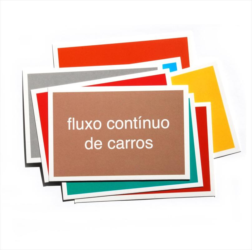 Cartão Postal - Brasília - Fluxo contínuo de carros