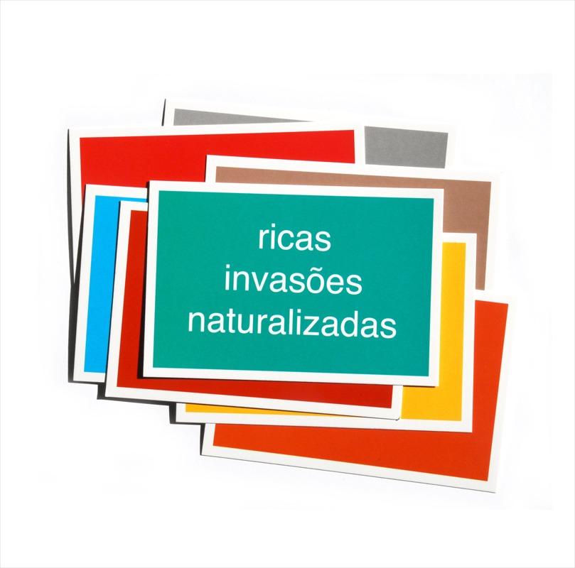 Cartão Postal - Brasília - Ricas invasões naturalizadas