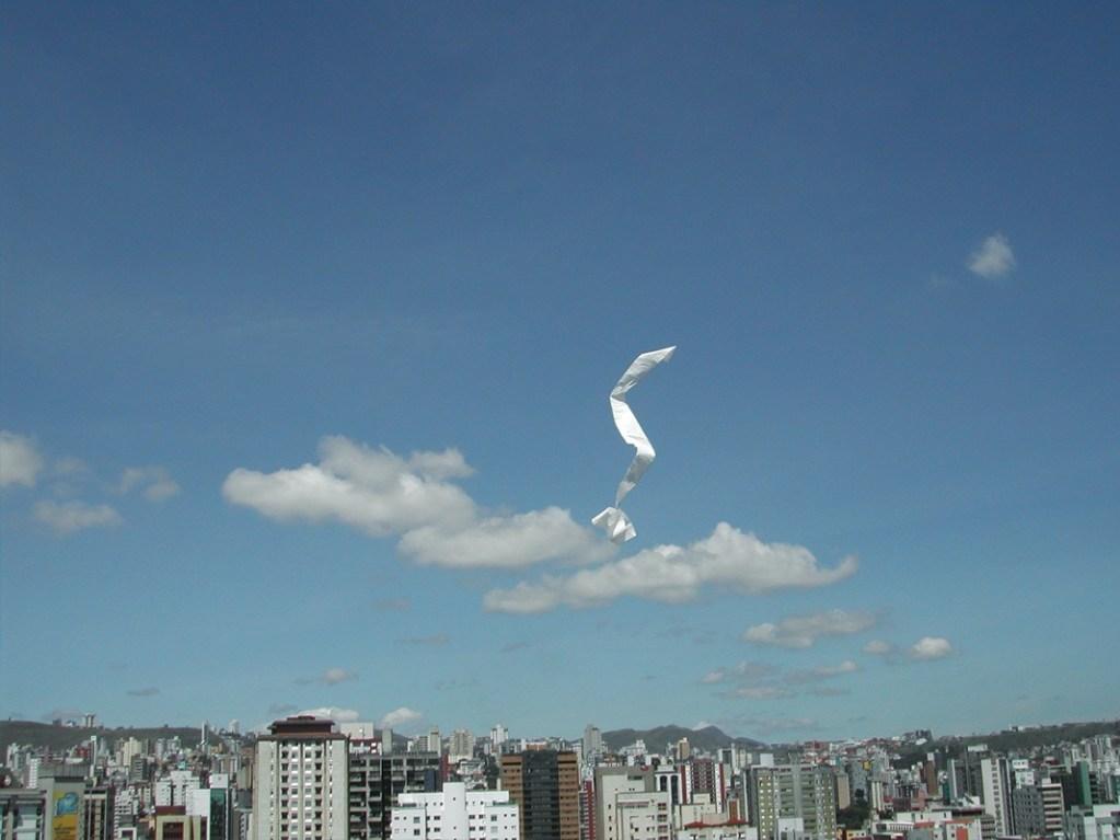 Desenhando no vento