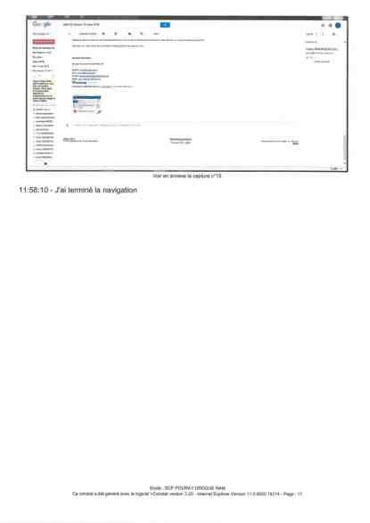 Constat dhuissier effectué selon les règles de lart Page18 1 - Les emails présentés ont été authentifiés par un huissier selon les règles de l'art