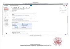 Constat dhuissier effectué selon les règles de lart Page25 1 - Les emails présentés ont été authentifiés par un huissier selon les règles de l'art