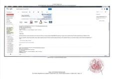 Constat dhuissier effectué selon les règles de lart Page30 1 - Les emails présentés ont été authentifiés par un huissier selon les règles de l'art