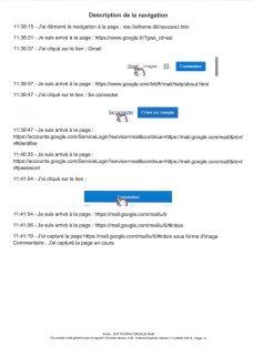 Constat dhuissier effectué selon les règles de lart Page7 1 - Les emails présentés ont été authentifiés par un huissier selon les règles de l'art