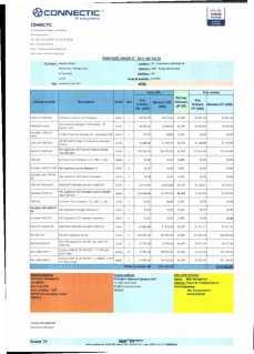 RANARISON Tsilavo ont signé les bons de commande de EMERGENT pour WESTCON Africa Page23 - RANARISON Tsilavo signent les bons de commande des produits CISCO achetés par EMERGENT NETWORK à WESTCON pour CONNECTIC