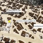 Begini Penampakan Peta Makkah 3D Era Nabi Muhammad
