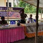 Kasat Bimas Polres Morotai Berkunjung ke Desa Aru Irian