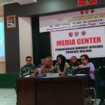 BPBD Maluku Gelar Konferensi Pers Terkait Informasi Dampak Gempa