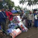 Perhimpunan Kanal Maluku Salurkan Bantuan dari Yayasan Bina Swadaya Kepada Pengungsi Gempa di Kabauw dan Rohomoni
