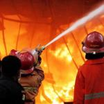 Kebakaran di Waiheru, 3 Kios Habis Dilalap Api