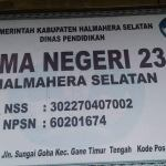 Ajaib, SMA N 23 Halmahera Selatan Punya Dua Kepala Sekolah