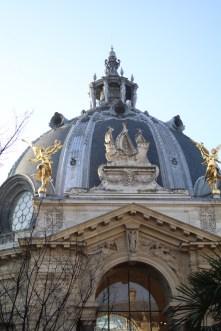 Petit Palais - dans le jardin - janvier 2017