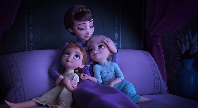 Elsa Anna and Queen Iduna frome Frozen 2 (2019)