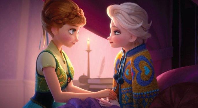Elsa get Fever from Frozen Fever