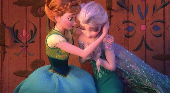 Elsa Sick from Frozen Fever (2015)