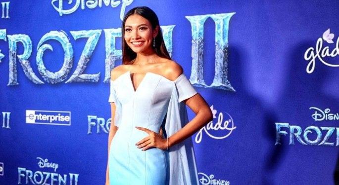 """Gam - Wichayanee Pearklin at """"Frozen 2"""" World Premiere Red Carpe"""