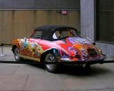 Janis Joplin's 1965 Porsche 356 Convertible Rear angle view