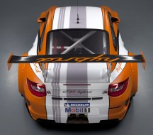 2011 Porsche 911 GT3 R Hybrid 2.0 Rear top view