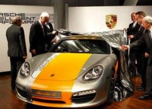 2011 Electric Porsche Boxter E Front view