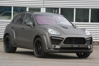 2011 Porsche Cayenne FAB Design Front angle view