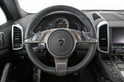 2011 Porsche Cayenne Guardian by Hamann Interior Steering wheel