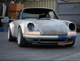 Porsche 911 Singer Design production Front view