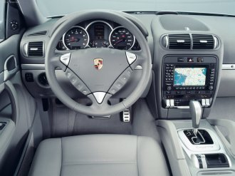 Porsche Cayenne 2003 wallpaper Interior