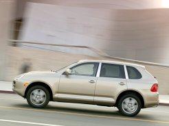 Porsche Cayenne 2004 1600x1200 wallpaper Side view