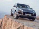Porsche Cayenne 2008 1600x1200 wallpaper Front angle view