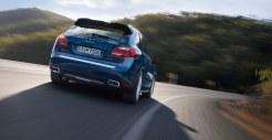 Blue Metallic Porsche Cayenne Diesel 2011 3000x1560 wallpaper Rear angle view
