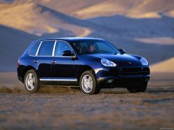 Porsche Cayenne S 2004 1600x1200 wallpaper Side angle view