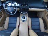 Red Porsche Cayenne S Titanium 2006 1600x1200 wallpaper Interior