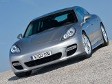 Porsche Panamera 2010 1600x1200 wallpaper Front angle view