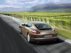 Porsche Panamera 2010 1600x1200 wallpaper Rear angle view
