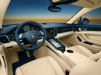 Porsche Panamera 2010 1600x1200 wallpaper Interior