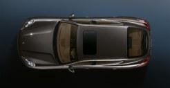 Carbon Grey Metallic Porsche Panamera S 2011 wallpaper Top view