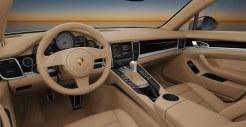 Porsche Panamera S 2011 3000x1560 wallpaper Interior