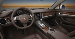 GT Silver Metallic Porsche Panamera Turbo 2011 wallpaper Interior