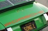 2011 Singer Racing Green Porsche 911 Rear view