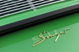 2011 Singer Racing Green Porsche 911 Rear view Sign