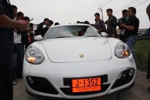 Speeding Porsche cuts girl in half