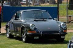 Steve McQueen 1970 Porsche 911s Front angle view