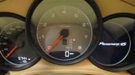 Sylvester Stallone's 2010 black Porsche Panamera 4S Dashboard