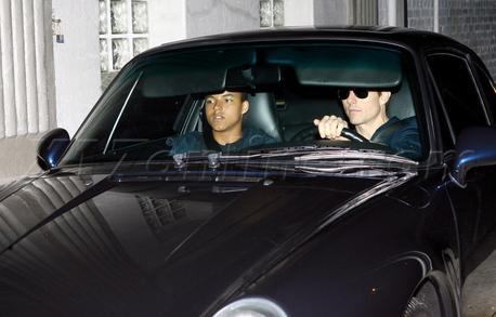 Tom Cruise and son Porsche 911