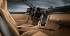 2011 Black Porsche 911 Carrera 4 Wallpaper Interior