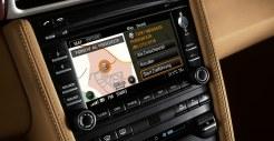2011 Black Porsche 911 Targa 4S Wallpaper Interior LCD screen