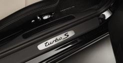 2011 Black Porsche 911 Turbo S Cabriolet Wallpaper Door sill