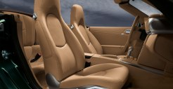 2011 Blue Porsche 911 Carrera 4S Cabriolet Wallpaper Interior Seats