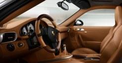 2011 Grey Porsche 911 Turbo Wallpaper Interior