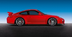 2011 Red Porsche 911 GT3 Wallpaper Side view